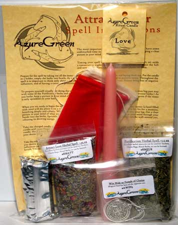 Attract A Lover Spell Kit