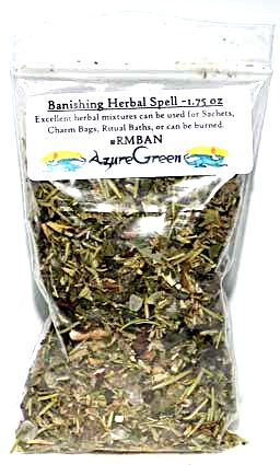 Banishing Herbal Spell Mix