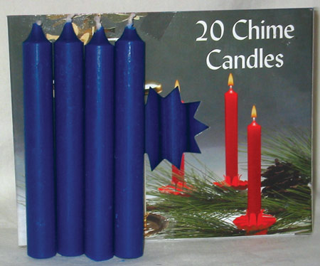 Dark Blue Chime Candles