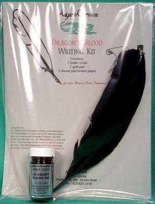 Dragon's Blood Writing Spell Kit