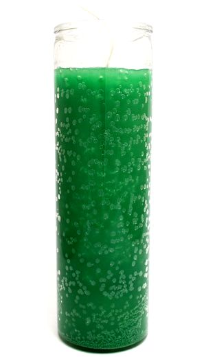 Green 7 Day Jar Candle
