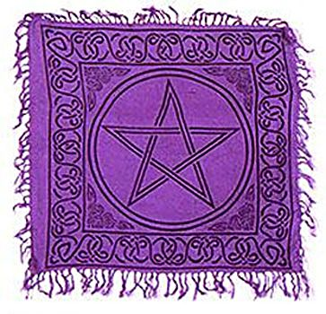 Large Pentacle Altar Cloth