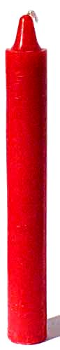 Red Taper Candle
