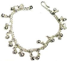 Silvertone Bell Anklet