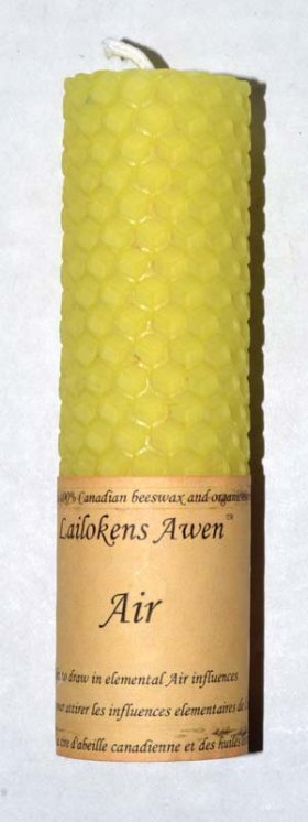 Air Lailokens Awen Pillar Candle