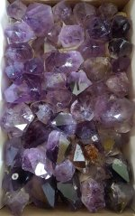 Amethyst Points Flat