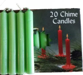 Apple Green Chime Candles