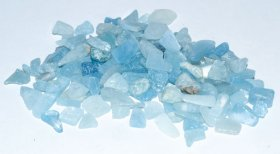 Aquamarine Tumbled Stone Chips