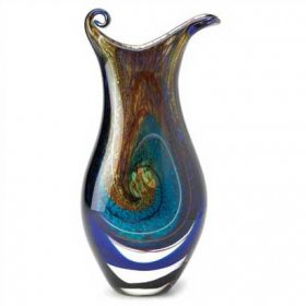 Art Glass Galaxy Vase