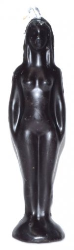 Black Female Candle