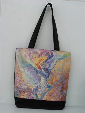Blue Bird Hand Bag