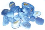 Blue Laced Agate Tumbled Stones