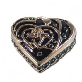 Celtic Heart Jewelry Box