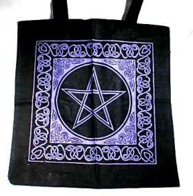 Celtic Pentacle Hand Bag