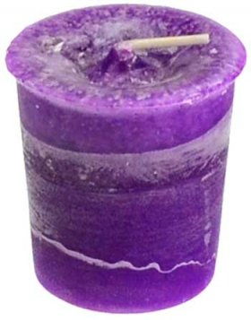 Crown Chakra Votive Jar Candle