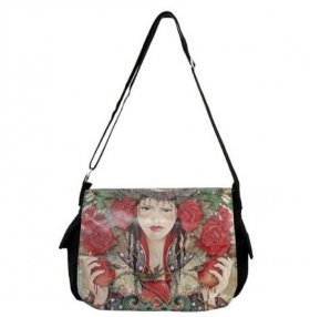 Daughter of Avalon Messenger Hand Bag