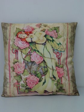 Entwined Fairy Pillow