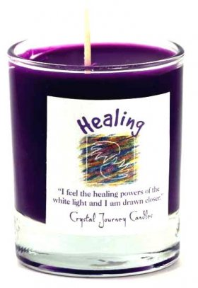 Healing Soy Votive Jar Candle