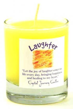 Laughter Soy Votive Jar Candle
