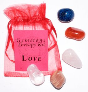 Love Gemstone Therapy Set