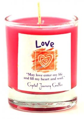 Love Soy Votive Jar Candle