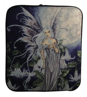 Night Blossom Fairy Laptop Sleeve Cover