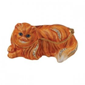 Persian Cat Jewelry Box
