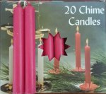 Pomegranate Chime Candles
