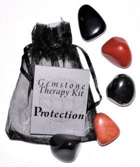 Protection Gemstone Therapy Set