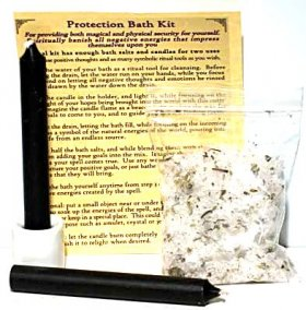 Protection Bath Spell Kit