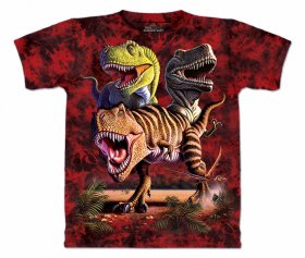 T-Rex Collage Youth T-Shirt