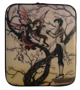 Temptation Fairy Laptop Sleeve Cover