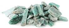 Amazonite Untumbled Stones 1lbs