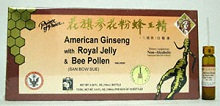 American Ginseng Extract with Royal Jelly and Bee Pollen
