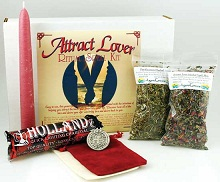 Attract Lover Boxed Spell Kit