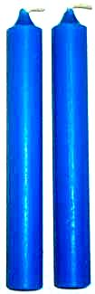 Blue Chime Candles