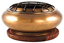 Brass Screen Incense Burner 1 Inch x 3 Inch