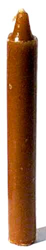 Brown Taper Candle