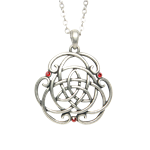 Celtic Ruby Necklace