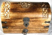 Celtic Cross Ritual Chest