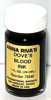 Dove's Blood Ritual Ink