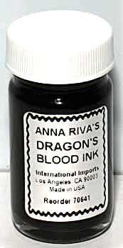 Dragon's Blood Ritual Ink