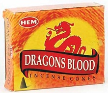 Dragon's Blood HEM Incense Cones