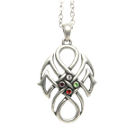 Fourfold Jewel Celtic Necklace