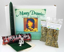 Money Drawing Boxed Spell Kit