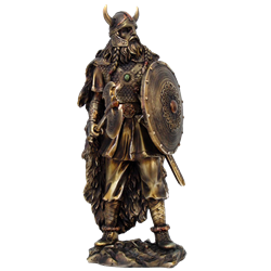 Proud Viking Warrior Statue