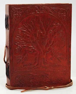 Sacred Oak Tree Blank Book of Shadows