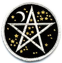 Star Pentagram Patch